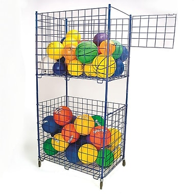S&S® 2-Tier Storage Cart, 72in. X 24in. X 36in.