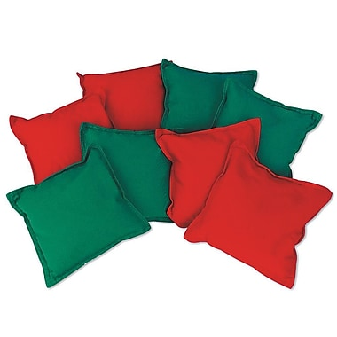 S&S® 5in. Heavyweight Bean Bag, 8/Set