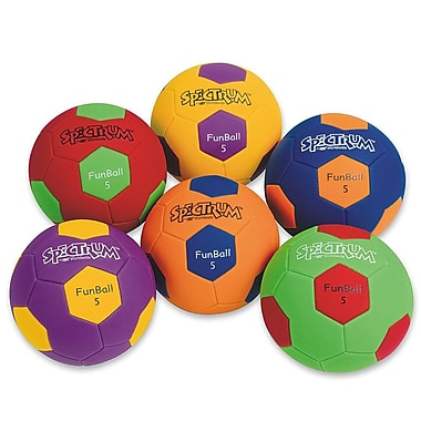 Spectrum™ FunBall Size 4 Soccer Ball Sets, 6/Set