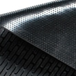Guardian CleanStep Outdoor Rubber Scraper Mat, 72in. x 48in., Black