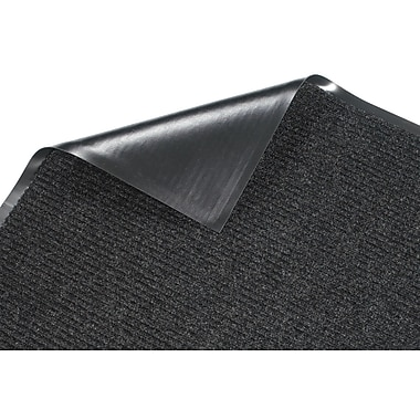 Guardian Golden Series Dual Rib Walk-Off Mat, 60in. x 36in., Charcoal
