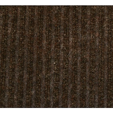 Guardian Golden Series Dual Rib Walk-Off Mat, 60in. x 36in., Chocolate