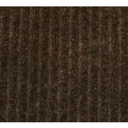 Guardian Golden Series Dual Rib Walk-Off Mat, 60 x 36, Chocolate