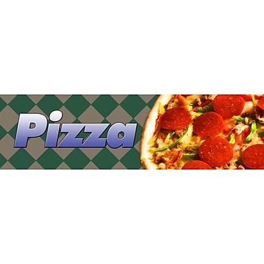 Guardian Grocery Mat, 120in. x 36in., Pizza Themed
