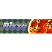 Guardian Grocery Mat, 120 x 36, Pizza Themed