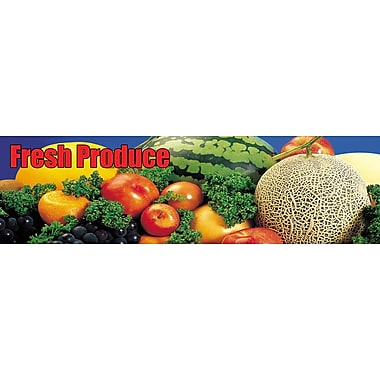 Guardian Grocery Mat, 120in. x 36in., Fresh Produce Themed