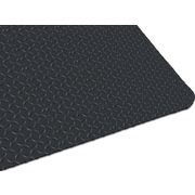 "Guardian Safe Step Vinyl Anti-Fatigue Mat, 36"" x 24"", Black"