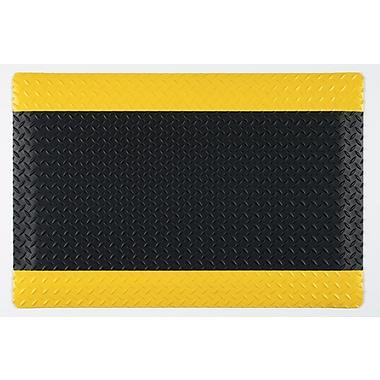 Guardian Safe Step Vinyl Anti-Fatigue Mats, Black/Yellow