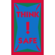 "Guardian Think Safe Floor Mat, 60"" x 36"""