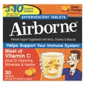 Airborne® Immune Support Supplement Effervescent Tablets, Citrus, 30/Pack