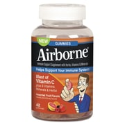 Airborne® Immune Support Supplement With Vitamin C Chewable Gummies For Kids, 42/Pack