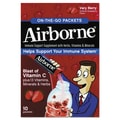 Airborne® On-the-go Immune Support Packet, Very Berry, 10/Pack