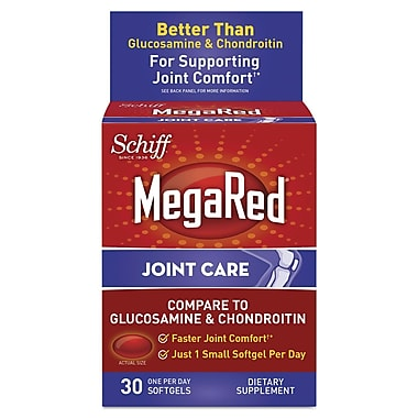 Schiff® MegaRed® Joint Care Tablets, 30/Pack