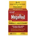 Schiff® MegaRed® Omega-3 Krill Oil + Multivitamin Softgels, 60/Pack
