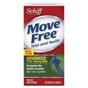 Move Free® Advanced Plus MSM Coated Tablets, 60/Pack