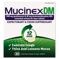 Mucinex® DM Expectorant and Cough Suppressant Tablets, 12 Hour Relief, 20/Pack