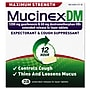 Mucinex® DM Max Strength Expectorant and Cough Suppressant