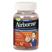 Airborne® Airborne Immune Support Supplement W/Vitamin C Chewable Gummies, Assorted Flavors