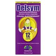 Delsym® Alcohol Free Children's Cough Suppressant, 12 Hour Relief, Grape, 5 oz. Bottle