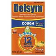 Delsym® 12 Hour Relief Alcohol Free Orange Children's Cough Suppressants