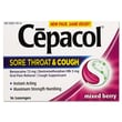 Cepacol® Extra Strength Sucrose-Free Lozenges, 16/Pack