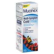 Mucinex® Multi-Symptom Liquid Cold Formula, Very Berry, 4 oz. Bottle