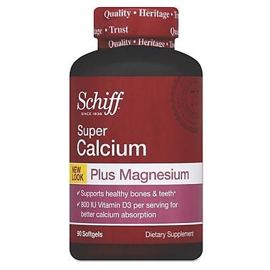 Schiff® Super Calcium Plus Magnesium With Vitamin D Softgels, 90/Pack