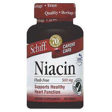 Schiff® Flush-Free Niacin Tablets, 100/Pack