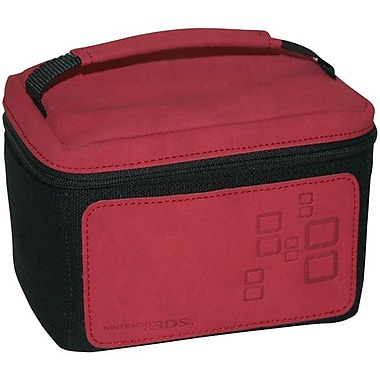 Mad Catz® Traveler Bag™ NOV257500N03/04/1 Gaming Console Case For Nintendo 3DS™, Red