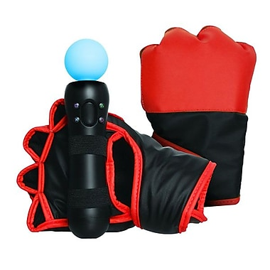 DreamGEAR® DGPS3-3816 Boxing Gloves For PS3 Move, Red/Black