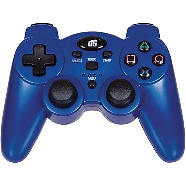 DreamGEAR® PS3 Radium Wireless Controller, Metallic Blue