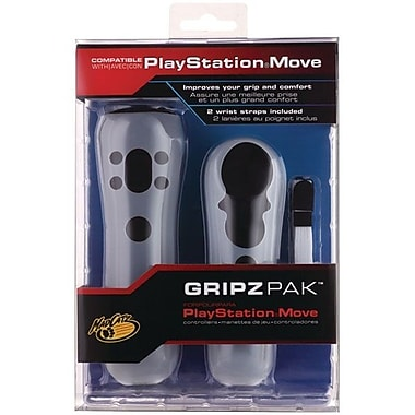 Mad Catz® Gripz Pak™ PS3 Gaming Controller Accessory, White