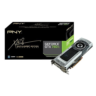 PNY® GeForce® GTX 780 Ti 3GB Plug-In 7000 MHz Graphic Card