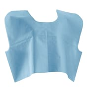 "Medline® 30"" x 21"" Disposable Tissue / Poly / Tissue Premium Exam Capes"