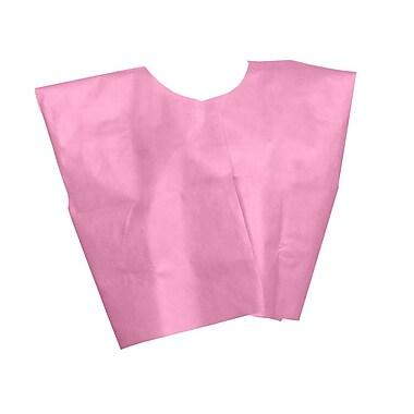 Medline® Disposable Multi Layer Patient Cape, Regular/Large, Pink