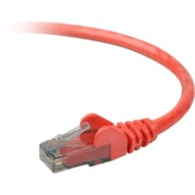 Belkin™ 30' Cat6 RJ45/RJ45 Snagless Duplex Patch Cable, Red