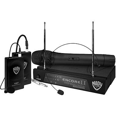 Nady® Encore II Single Channel Wireless Microphone System, 250'