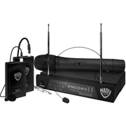 Nady® Encore II Single Channel Wireless Microphone System, 250'
