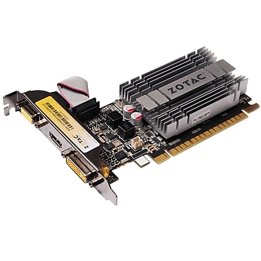 Zotac® Synergy Edition NVIDIA GeForce 210 1GB DDR3 Plug-in 1066 MHz Graphic Card