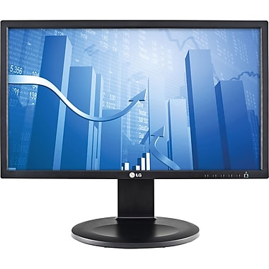 LG 22in. Widescreen LED Backlit LCD Monitor, Black