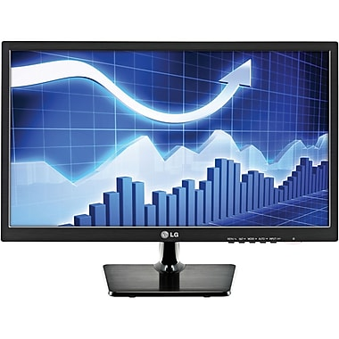 LG 24in. Widescreen LED Backlit LCD Monitor, Black