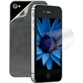 3M™ Natural View Screen Protector With Back Skin/Clean Cloth For iPhone 4/4S
