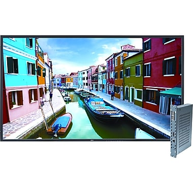 NEC® V463-PC 46in. 1080p IPS Digital Signage Solution With V463 & Single Board Computer, Black