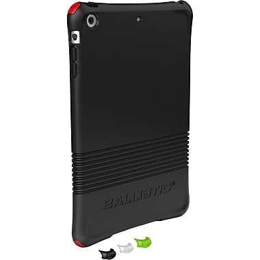 Ballistic® LS Series Case With 4 Set Color Bumpers For iPad Mini, Black