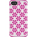 Ballistic® Aspira Case For iPhone 5/5S, Flower White/Hot Pink
