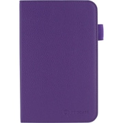 rOOCASE Dual View Vegan Leather Folio Case With Stylus For Samsung Galaxy Tab 3 7.0, Purple