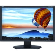 NEC® Display 24.1 LED LCD Color Critical Wide Gamut Desktop Monitor With SpectraViewII, Black