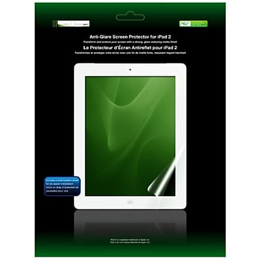 Green Onions Supply® RT-SPIPAD202G Anti-Glare Screen Protector For Apple iPad2