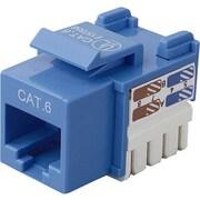 Belkin™ Cat6 Keystone Jack, Blue
