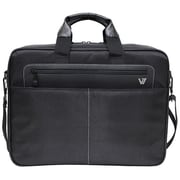 V7® Cityline Toploader Laptop Case For 16.1 Notebook, Black